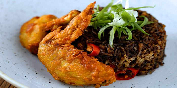 Buah Keluak Fried Rice from The Blue Ginger (Tanjong Pagar) in Tanjong Pagar, Singapore