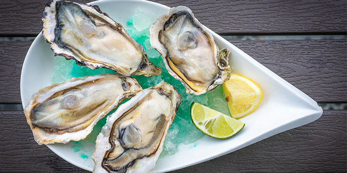 Fresh Oysters from YOUNGS Bar & Restaurant in Seletar, Singapore