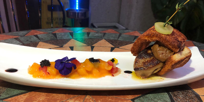 Pan Seared Foie Gras with Apple Jam, Warren, Tai Hang, Hong Kong