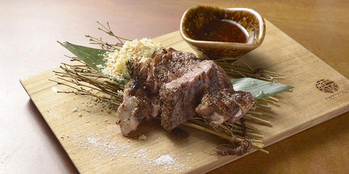 Caba Beef Marinated at Okuzono Japanese Dining