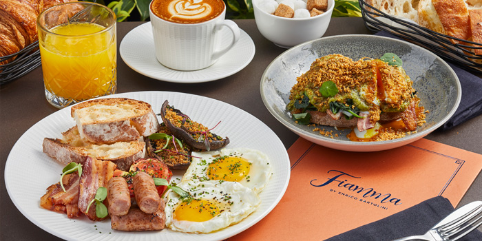 Buongiorno Breakfast, FIAMMA, The Peak, Hong Kong