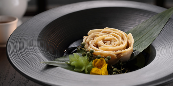Chilled Sliced Abalone in Homemade Sichuan Sauce, Yue, Tung Chung, Hong Kong