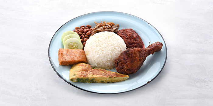 Nasi Lemak from Socieaty at One Farrer Hotel & Spa in Little India, Singapore
