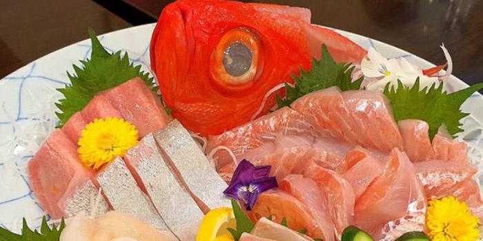 Mix Sashimi from Botan Japanese Restaurant in Telok Ayer, Singapore