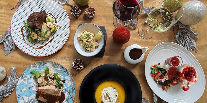 Festive Dishes from Beast & Butterflies at M Social Singapore in Robertson Quay, Singapore