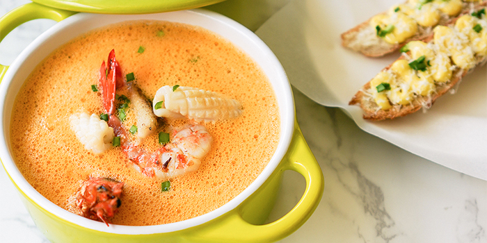 Seafood Soup from Bistro G at Millenia Walk in Promenade, Singapore