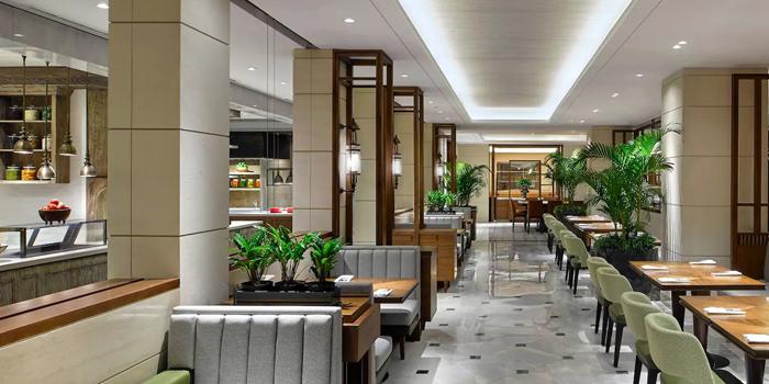 Interior 1 at Grand Cafe, Grand Hyatt Jakarta