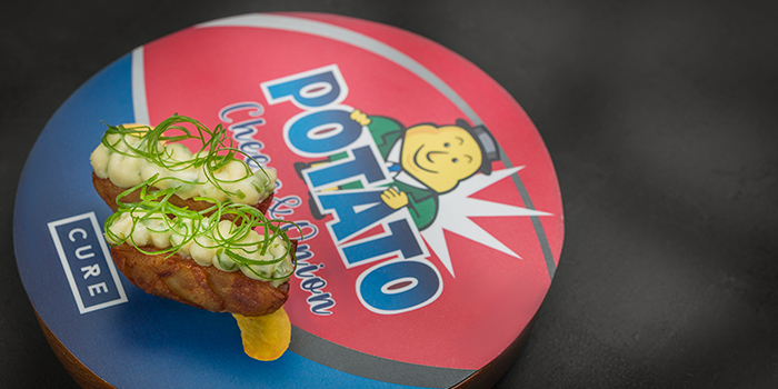 Potato Crisp Sandwich from Cure Singapore on Keong Saik Road, Singapore