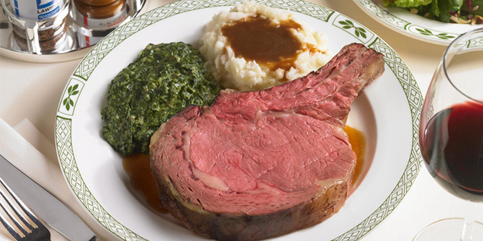 Bone-in USDA Roasted Prime Rib of Beef from Lawry