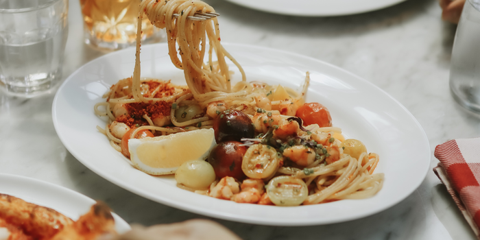 Spaghetti Aglio Olio at Osteria GIA, Plaza Indonesia