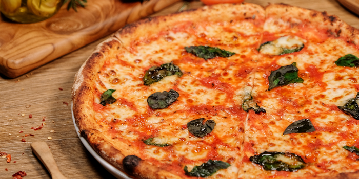 Margheritta Pizza at Osteria GIA, Plaza Indonesia