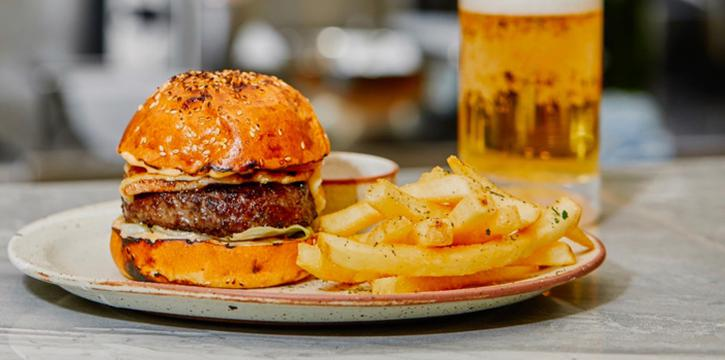 Burger-Dishes from Enzo
