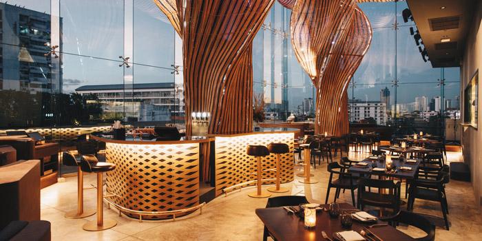 Ambience of Spice & Barley at Anantara Riverside Bangkok Resort 257 Charoennakorn Road, Samre, Thonburi Bangkok