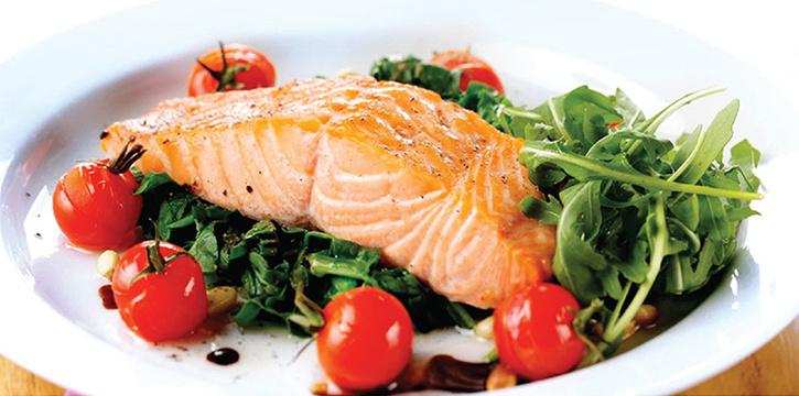 Norwegian Salmon from BLVD @ MBFC in Marina Bay, Singapore
