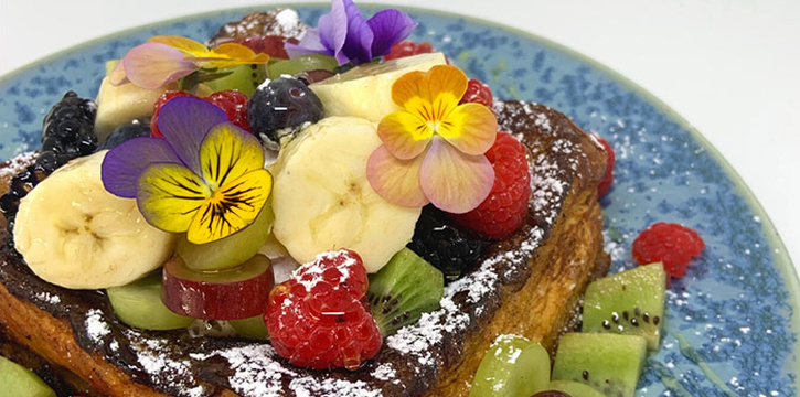French Toast from The Gallery Bistro  at National Gallery Singapore in City Hall, Singapore