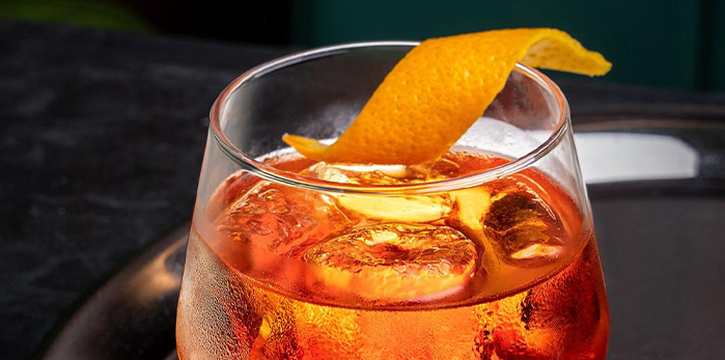 Negroni from Eat Cetera in Queenstown, Singapore