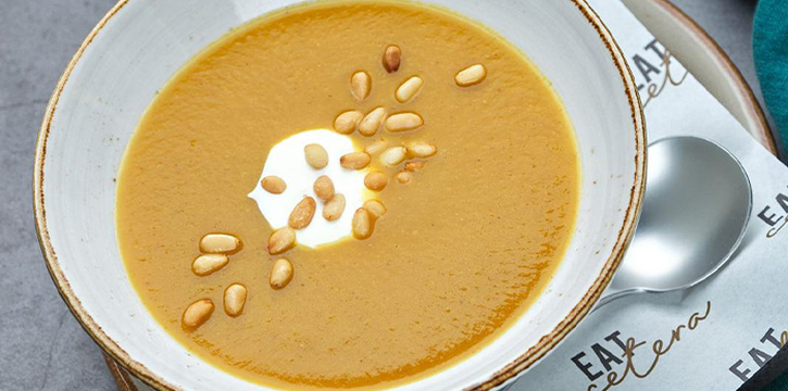 Pumpkin Soup from Eat Cetera in Queenstown, Singapore