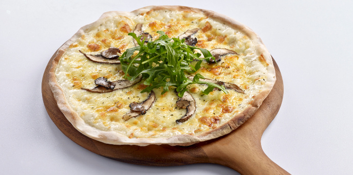 Wild Mushroom and White Truffle Pizza from Elemen @ HarbourFront Centre in HarbourFront, Singapore