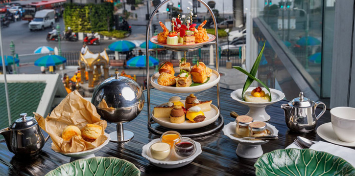 Afternoon Tea from Erawan Tea Room Restaurant at Grand Hyatt Erawan, Bangkok