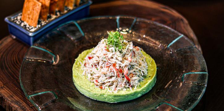 Pulled Alaska King Crab from ALATi at Siam Kempinski Hotel, Bangkok