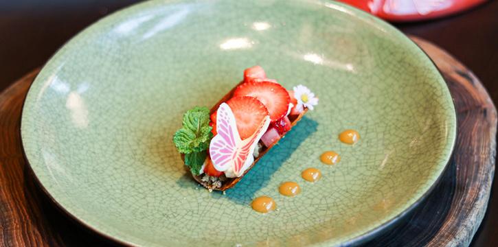 Strawberry Tart from ALATi at Siam Kempinski Hotel, Bangkok