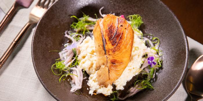 Honey Marinated Baked Cod Fish from Spice & Barley at Anantara Riverside Bangkok Resort 257 Charoennakorn Road, Samre, Thonburi Bangkok