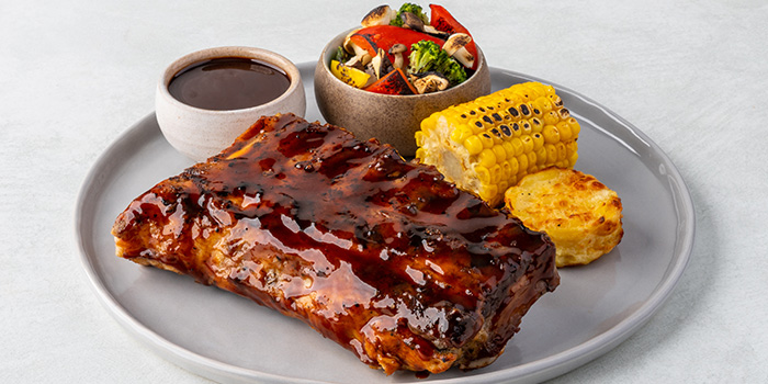 Signature Roasted BBQ Pork Ribs from COLLIN'S®️ (Marina Square) at Marina Square in Promenade, Singapore