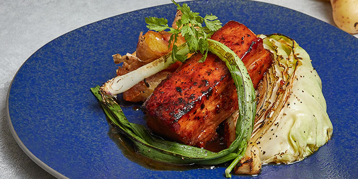 Char Grilled Pork Belly from Cicada Singapore in Clarke Quay, Singapore