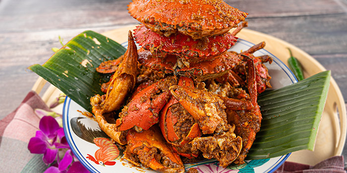 Rendang Crab from George Town Tze Char & Craft Beer in Boat Quay, Singapore