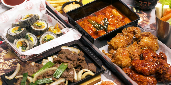 Dish 2 at Jjang Korean Noodle & Grill, Senopati