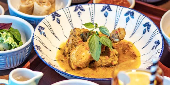 Dish 1 at Grand Cafe, Grand Hyatt Jakarta