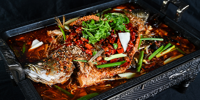 Mala Grilled Fish from 6ix 6ix 六六 in Orchard, Singapore