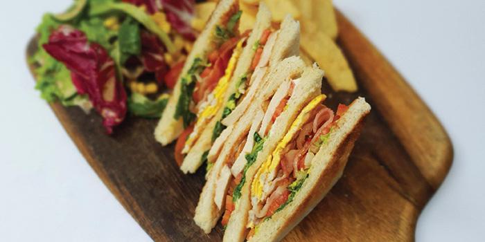 Element Club Sandwich from Element Restaurant at Amara Hotel in Tanjong Pagar, Singapore