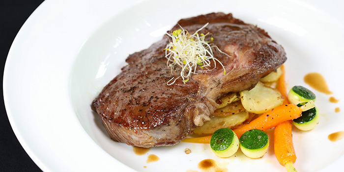 USDA Special Prime Ribeye from Cali, Park Avenue Rochester Hotel at Park Avenue Hotel in Rochester, Singapore