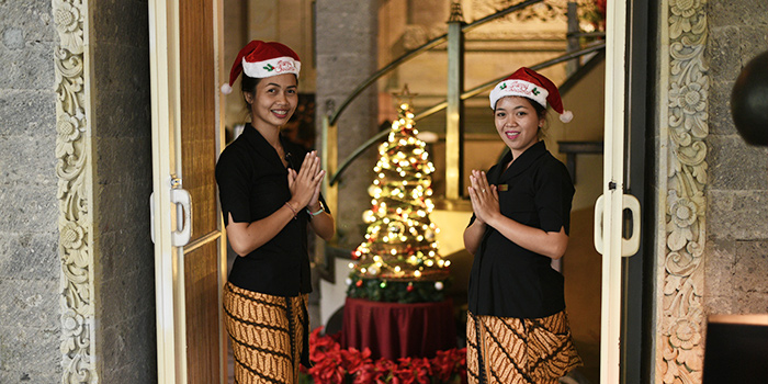 Welcome Greeting from bridges Bali, Ubud