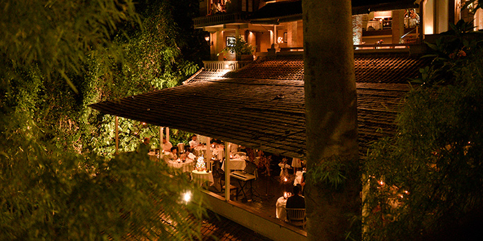 Night ambience from bridges Bali, Ubud