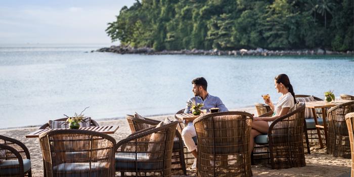 Surrounding of Pine Beach Bar in Phuket, Thailand
