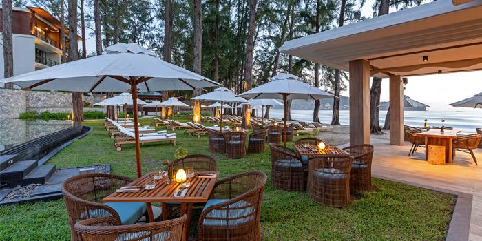 The Beach of Pine Beach Bar in Phuket, Thailand