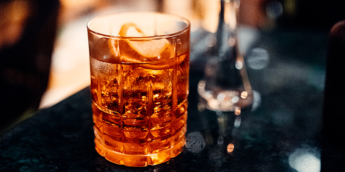 Cocktail from Milano Canggu, Bali