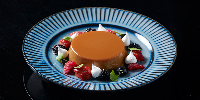 Flan Adriana Dulce De Leche from FIRE @ 1-ATICO at ION Orchard in Orchard, Singapore