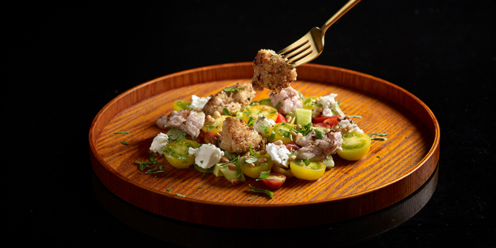 Veal Sweet Breads Salad from FIRE @ 1-ATICO at ION Orchard in Orchard, Singapore
