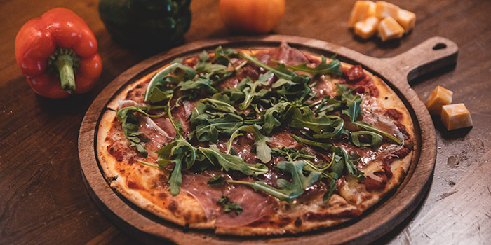 Proscuitto Pizza from Boss Bistro & Bar in Holland Village, Singapore