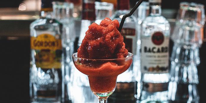 Frozen Strawberry Margarita from Boss Bistro & Bar in Holland Village, Singapore