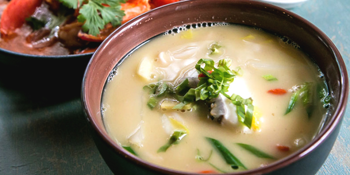 Fish Soup from Enjoy Eating House and Bar @ Stevens in Newton, Singapore