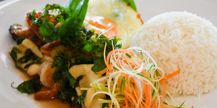 Food from Seasonal Taste in Phuket, Thailand.