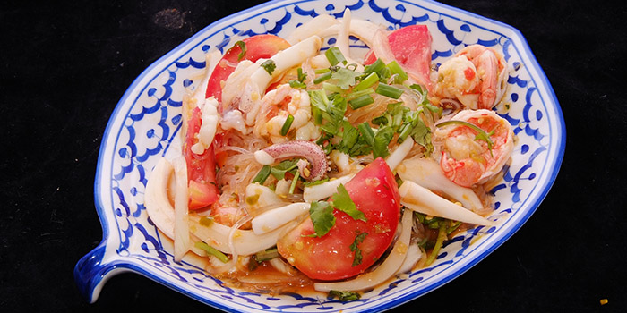 Thai Glass Noodle Seafood Salad from Soi 44 in Dhoby Ghaut, Singapore