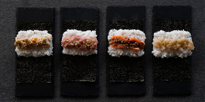 RAPPU Rolls from Rappu Handroll Bar in Tanjong Pagar, Singapore