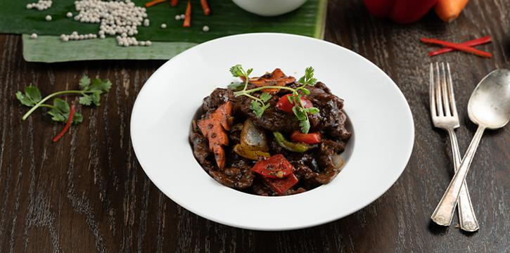 Black Pepper Beef from Folks Collective - The Vintage Shophouse (Cross Street) in Raffles Place, Singapore