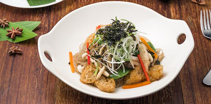 Buddha Japchae Bowl from Folks Collective - The Vintage Shophouse (Cross Street) in Raffles Place, Singapore