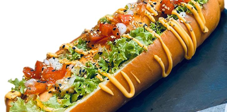 Chicken Hotdog from JTSH Cafe in Orchard, Singapore
